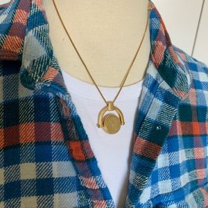 Jewelry - Madewell pendant necklace (reversible charm)
